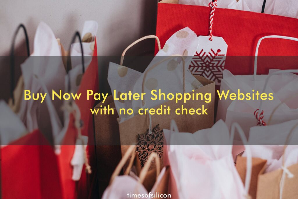 buy now pay later no credit check shopping sites