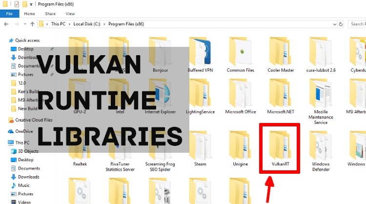 What is Vulkan Runtime Libraries? Should you remove VulkanRT?