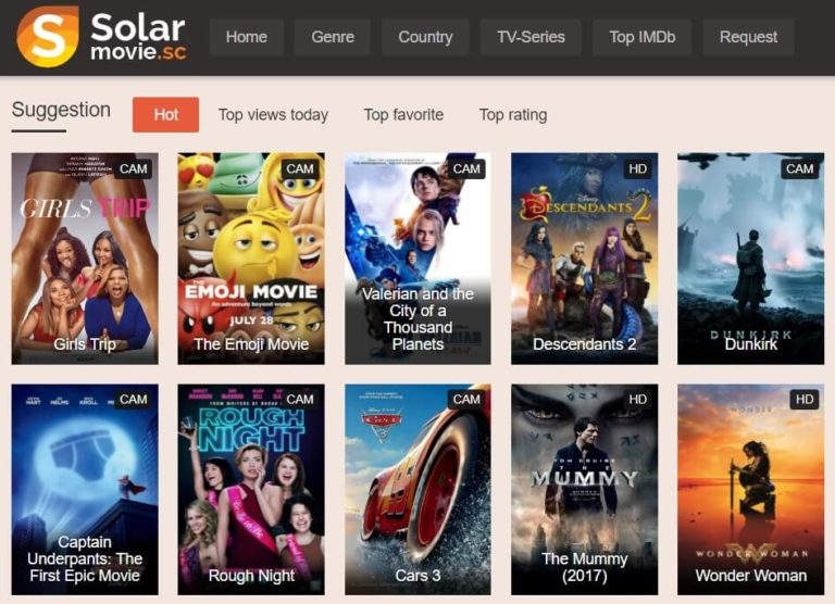 Unblocked SolarMovie Proxy