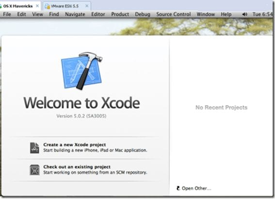 welcome to xcode windows