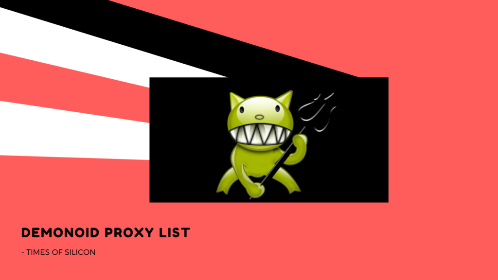 Demonoid Proxy List