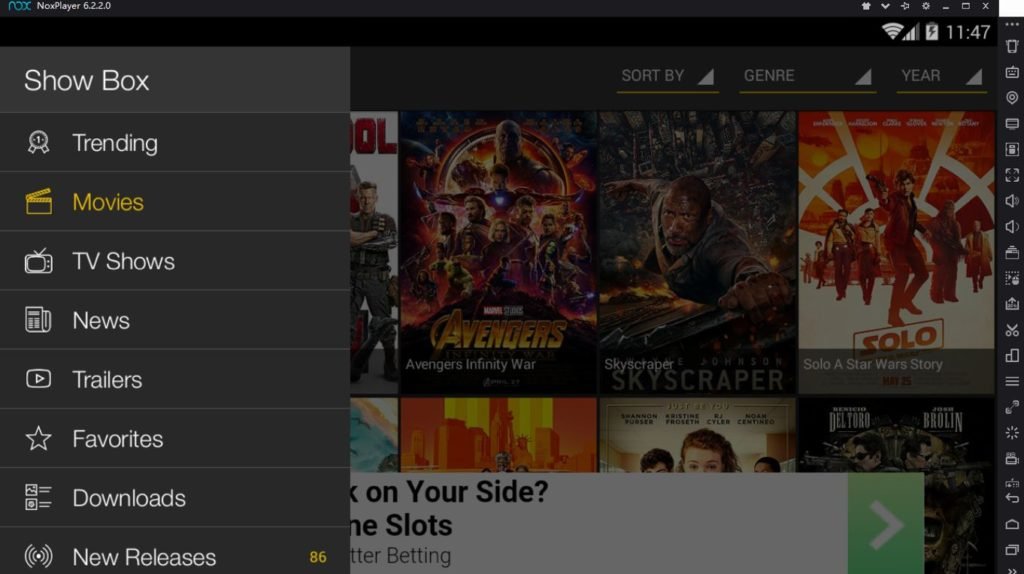 showbox and couchtuner