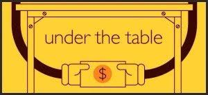 under the table jobs that pay cash