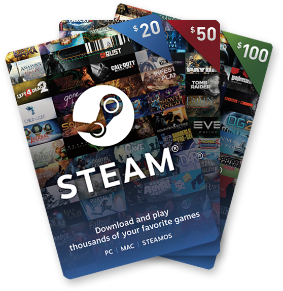steam wallet codes list