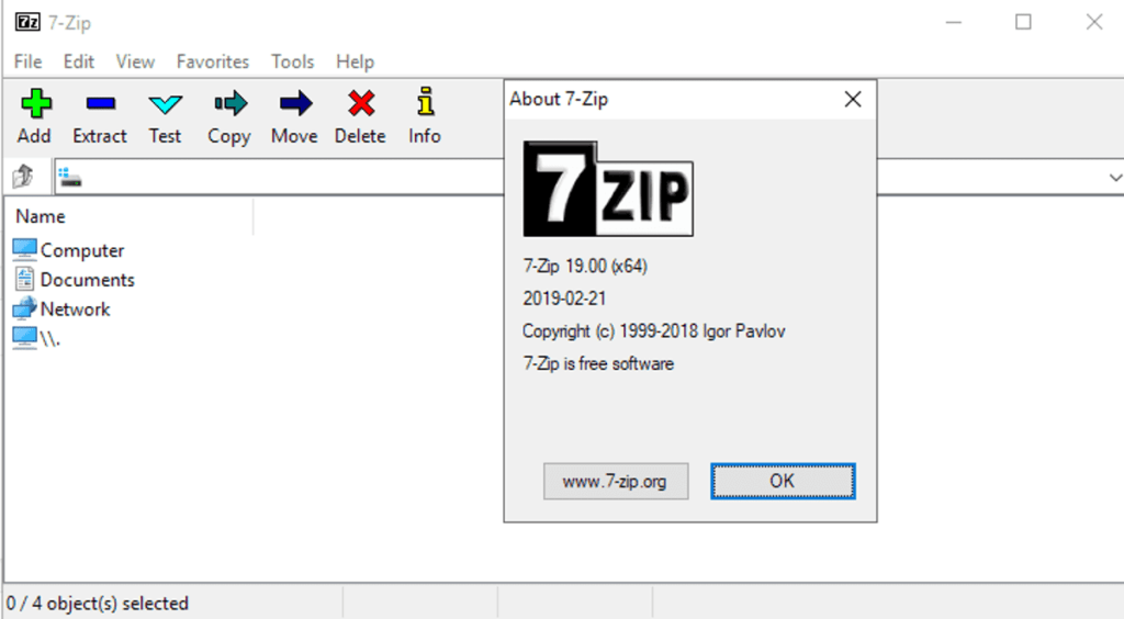 7zip windows 10