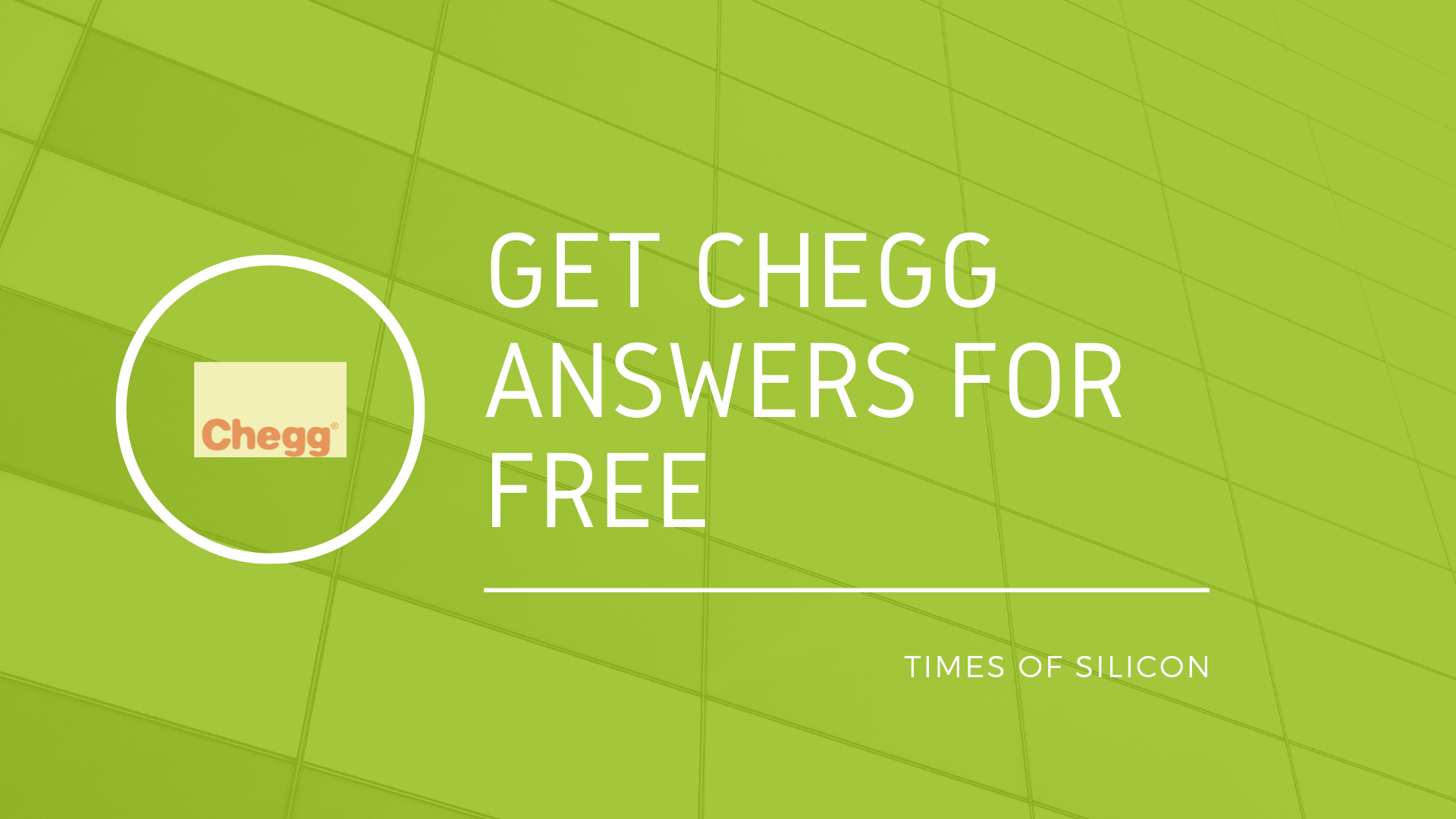 Get Chegg Answers Free
