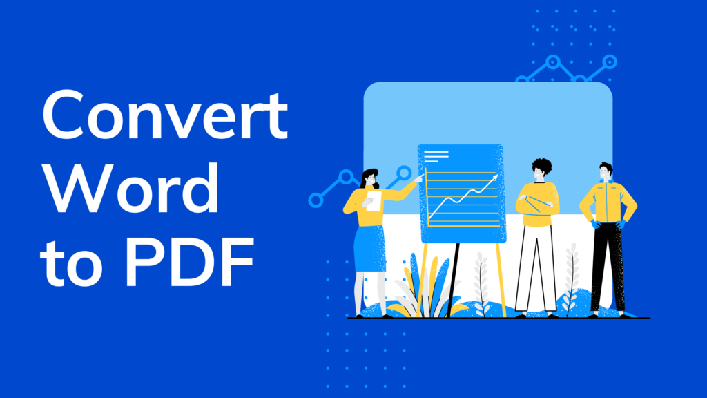 Convert Word to PDF: Save Doc as PDF file Online