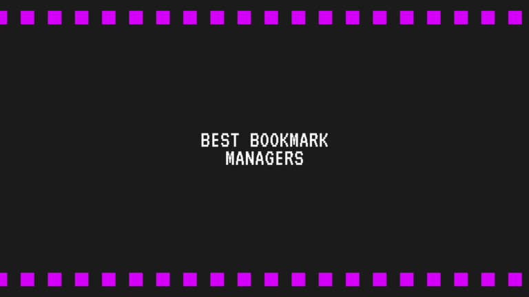 Best bookmark Manager for chrome