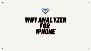 Wifi Analyzer for iphone